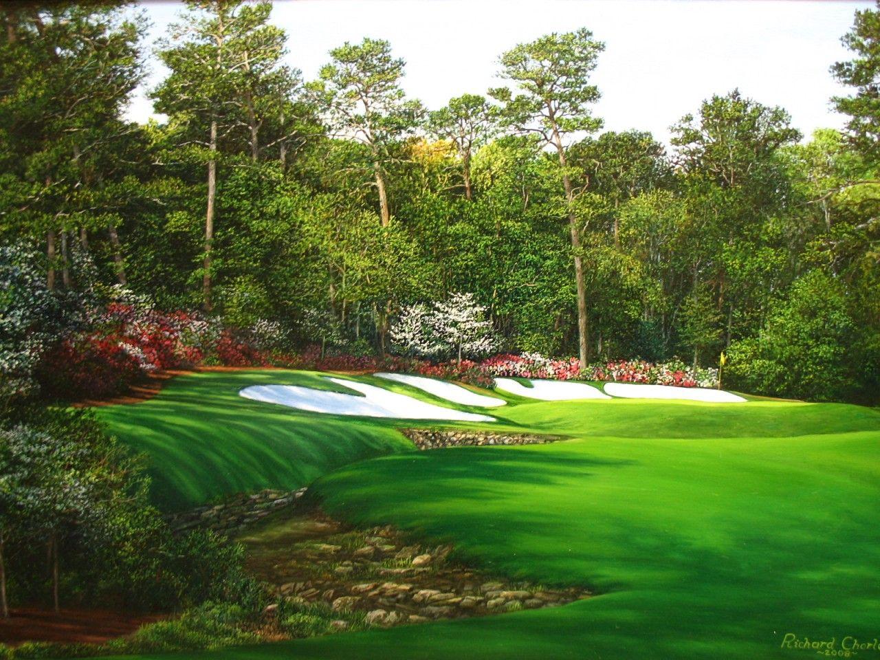 Augusta National Golf Club 13th Hole Golf courses