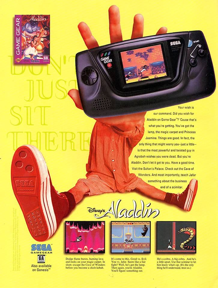 I dare you to find a more 90s ad than this. Retro games