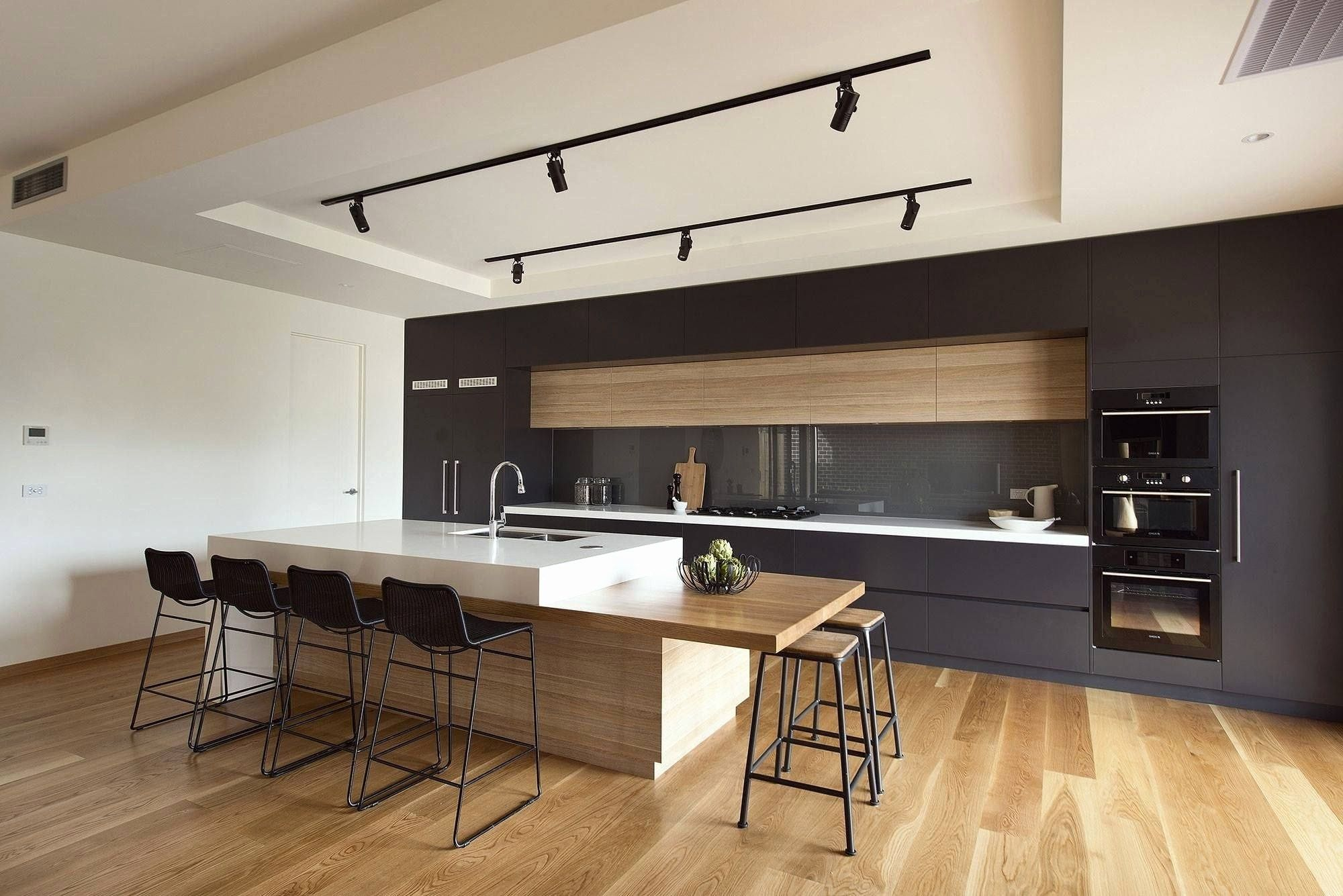40 Awesome Stained Concrete Countertops Modern Kitchen Design