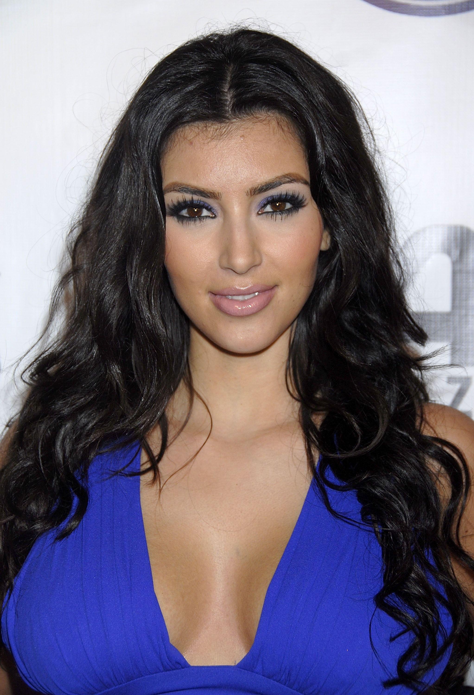 Blue Eyes Makeup Kim Kardashian Looks Makeup Blue Eyes