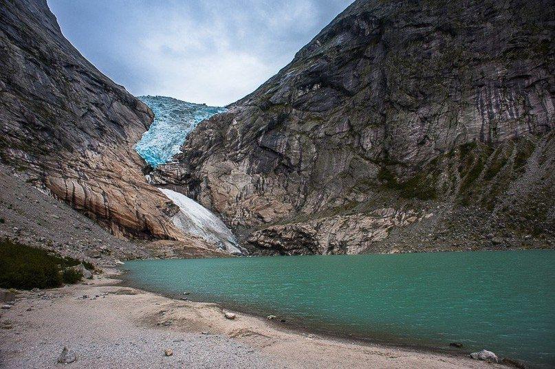 Ледник Бриксдаль в Норвегии - Путешествуем вместе