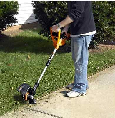 Worx 10 Quot 20v Cordless Lawn Grass Trimmer Edge Weedeater W Rechargeable Battery Trimmers Lawn Edger Lawn