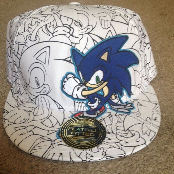 Sonic The Hedgehog Hat Sonic The Hedgehog Hedgehog Sonic