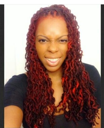 All red Everything | Dreadlocks and Hair Color | Pinterest | Locs ...