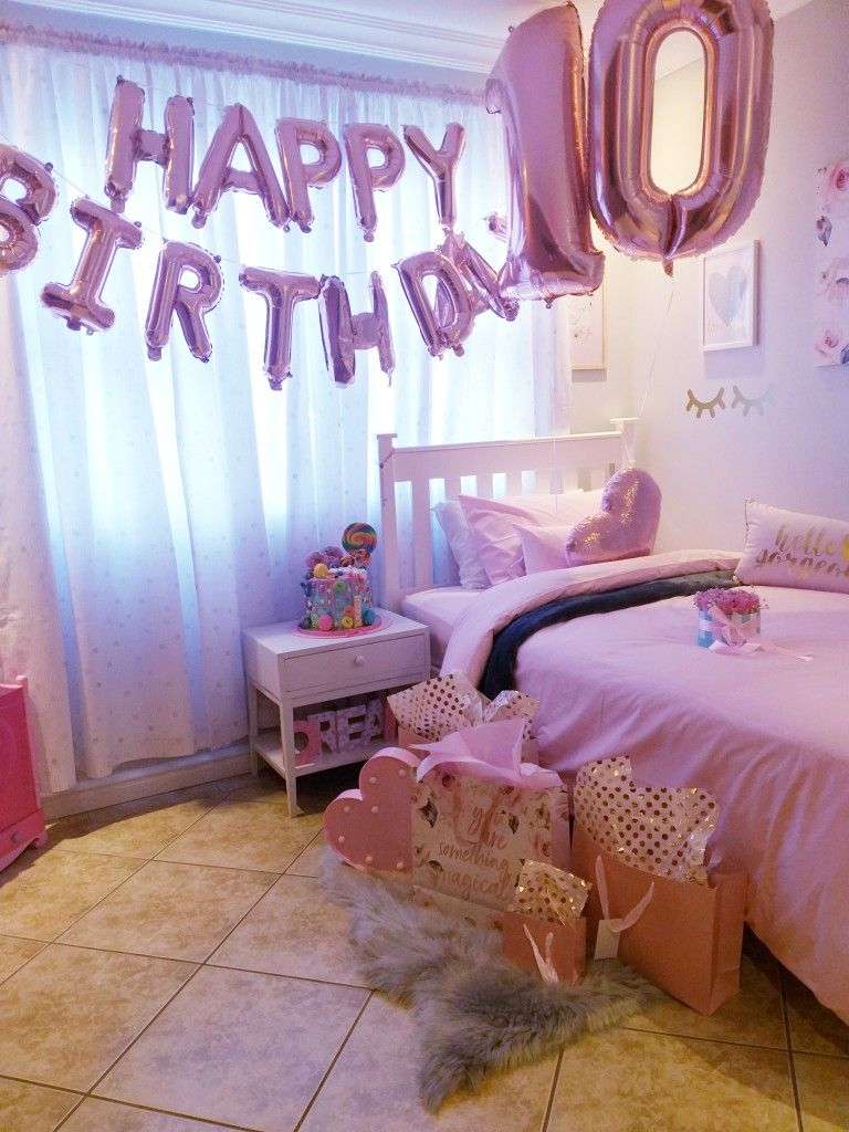 Lezorahs 10th Birthday Bedroom | Little girls playroom ...