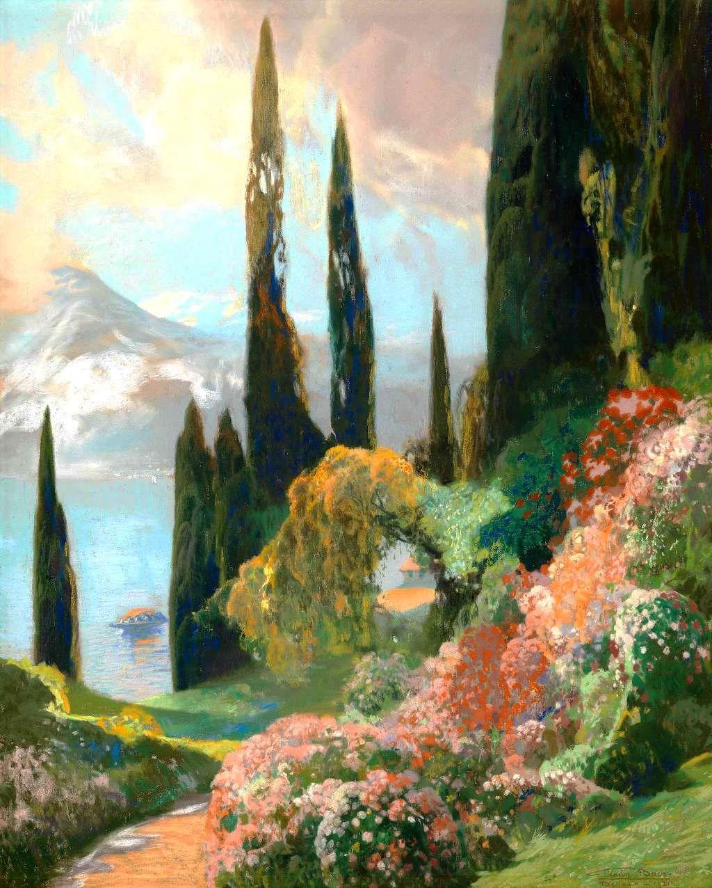 Catonhottinroof Firmin Baes 1874 1943 Bellagio In 2019