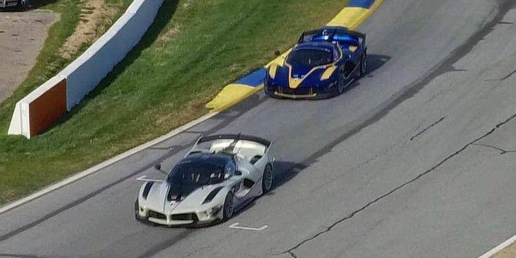 Watch a Handful of Ferrari FXX Ks Battle Around Road Atlanta — Road & Track