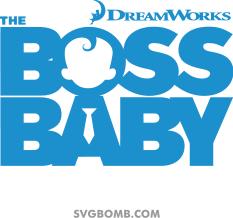 The Boss Baby Logo Svg Svgbomcom Svg Box Boss Baby Baby Logo Baby Month By Month