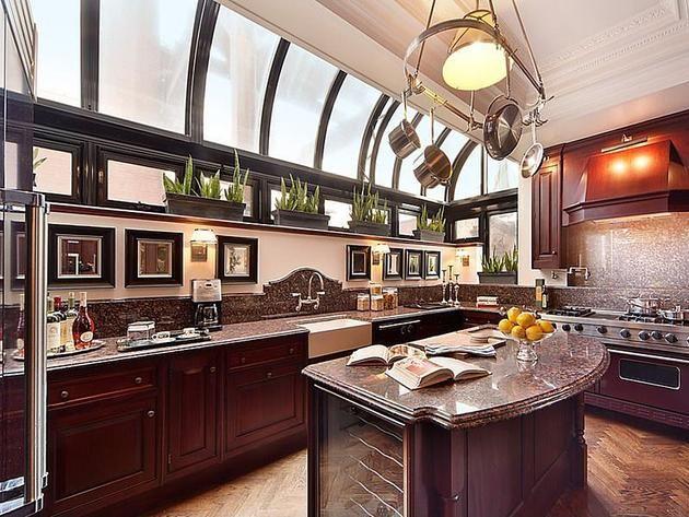 Kitchen: Prewar Penthouse in New York