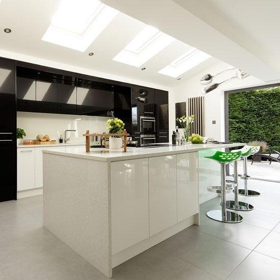 Modern Kitchen Extension Open Plan Kitchen Ideas Housetohome