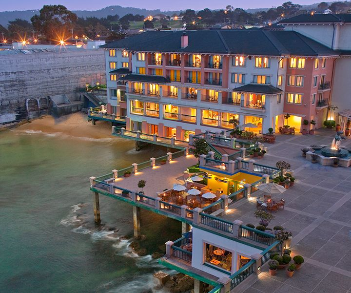 Located On Cannery Row Monterey Plaza Hotel Spa Is The Most Dramatic Waterfront