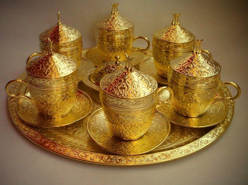 46+ Turkish coffee set gold ideas