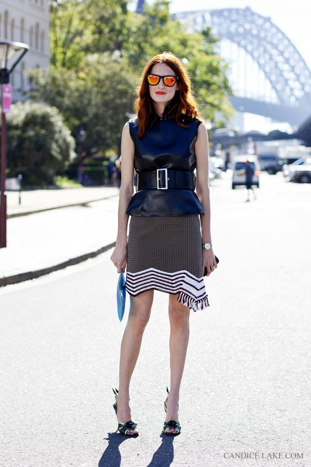 #fashion #streetstyle #photography #leather #skirt #style #glasses #moda #calle #estilo #falda #cuero #gafas