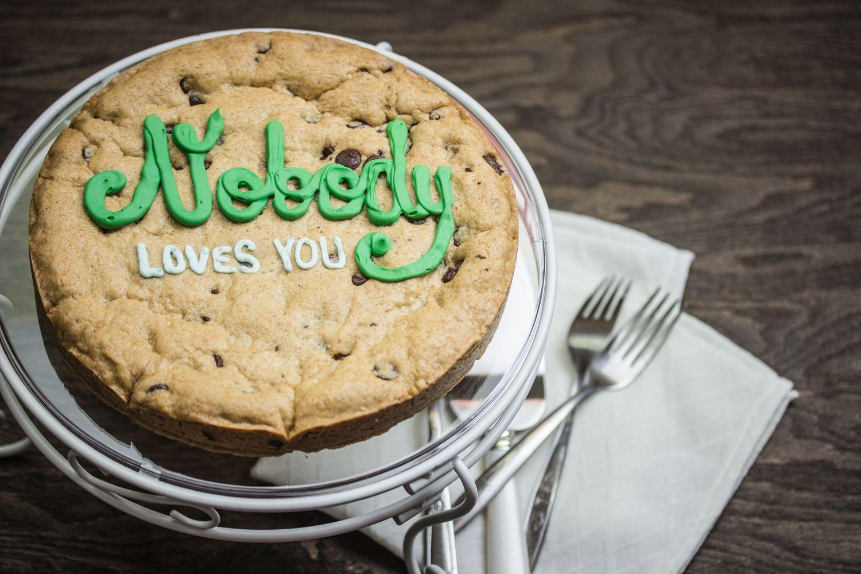 Nobody loves you the bold bakery bakery take the cake