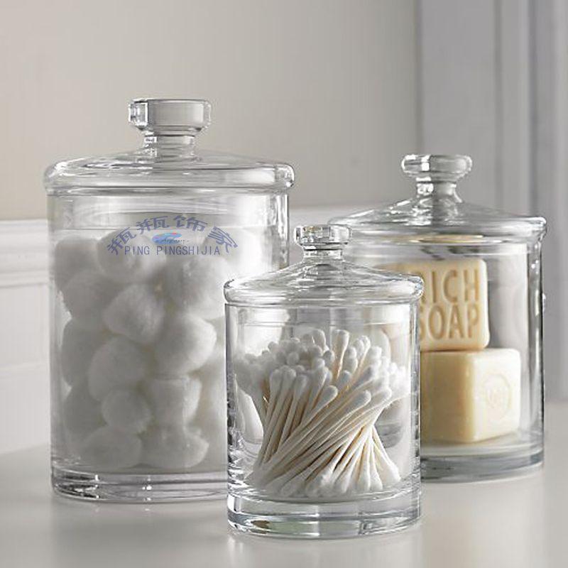 Bathroom Storage Jar Ideas Google Search Apartment Bathroom