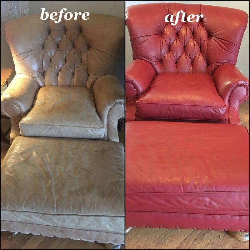 Red Wine Leather Furniture Finish Vinyl Dye By Rub N Restore Paint Leather Couch Leather Furniture Leather Couch Repair