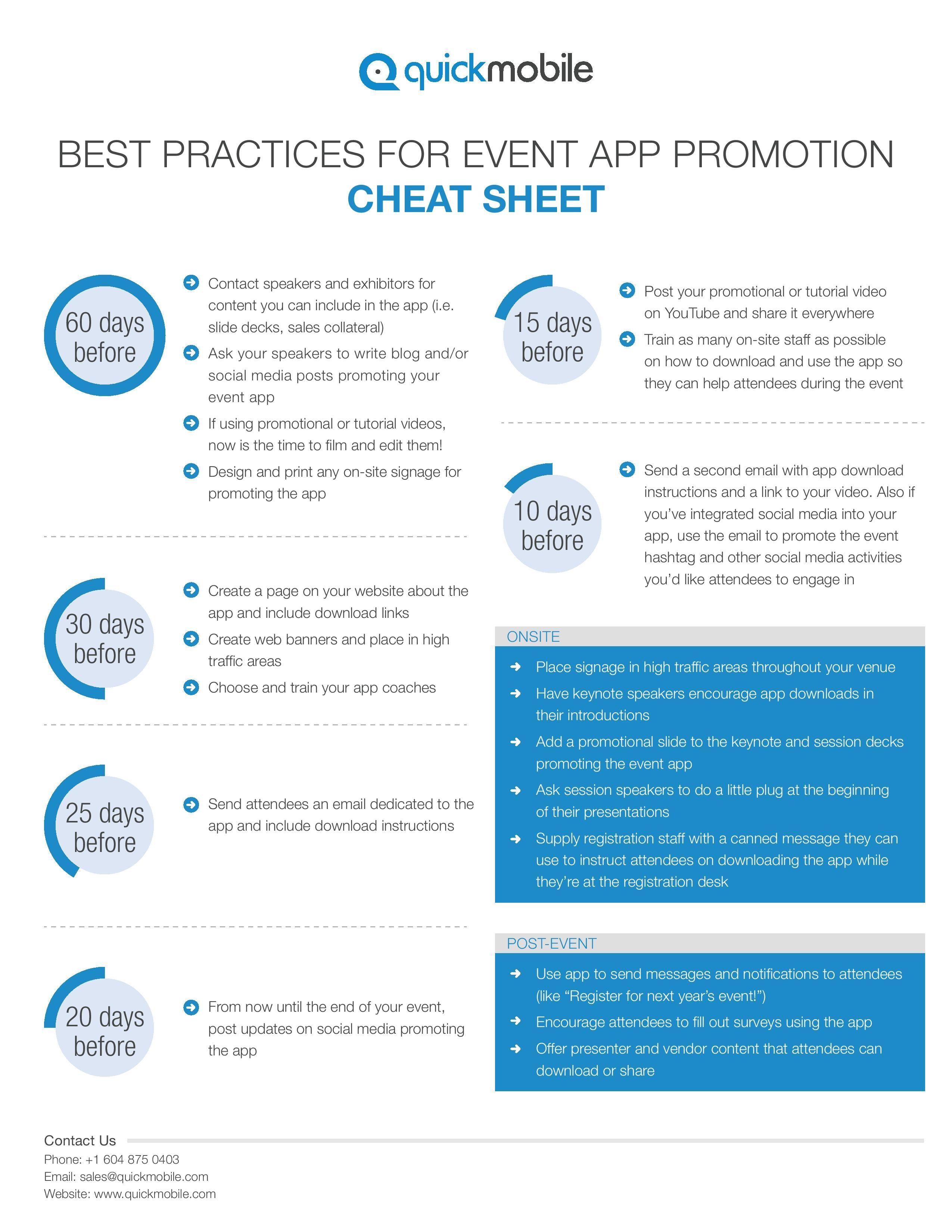 Best practices for event app promotion httpwww