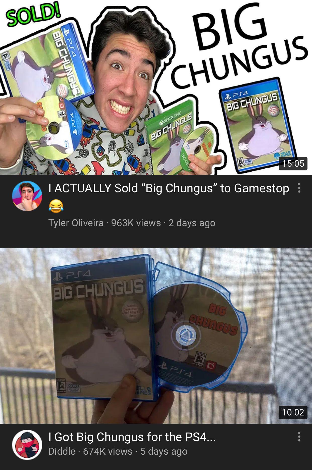 Bįg Čhûñgüś meme 2019 Big_Chungus Clean memes, Memes