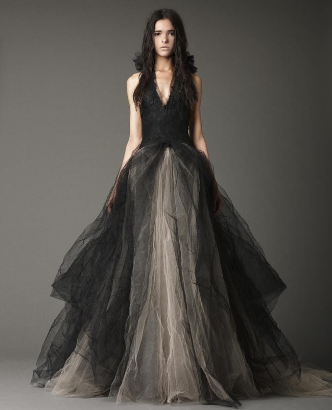Black Cute Wedding Dresses