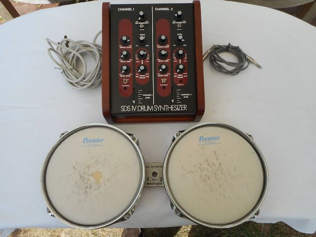 Vintage Simmons Sds Iv Drum Synthesizer Sn 4007 Synthesizer Drums Simmons