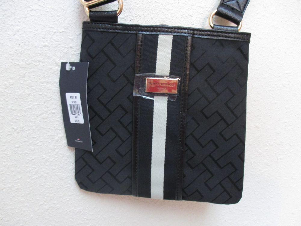 029d2241d4 Bag Tommy Hilfiger Handbags Sm XBody 6915211 990 Color Black Beige Gold # TommyHilfiger #MessengerCrossBody