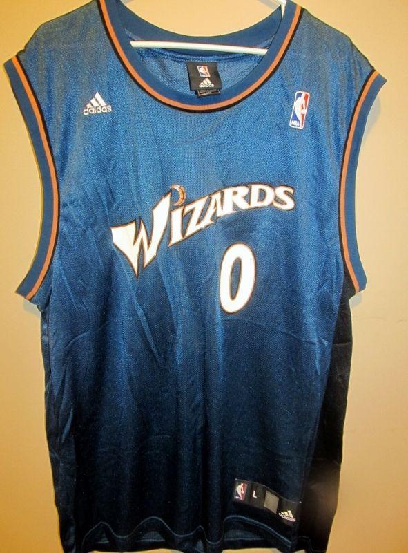 4b72c0466 Adidas Gilbert Arenas Washington Wizards jersey