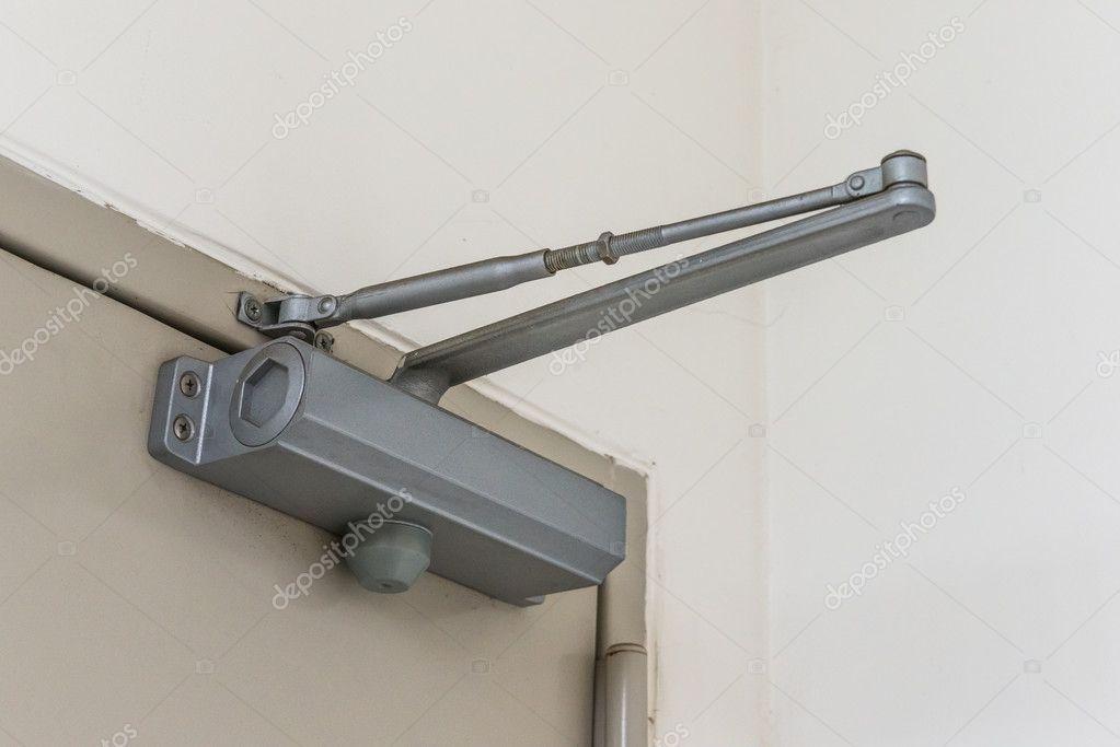 Automatic Hydraulic Leaver Hinge Door Closer Holder Stock Photo Affiliate Leaver Hinge Automatic Hydraulic Ad