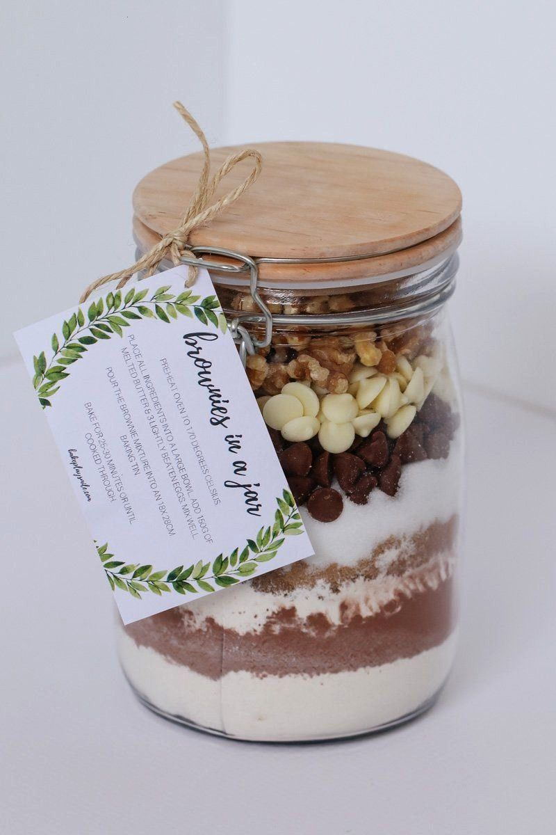 IN A JAR make the perfect homemade gift for a teacher, friend or neighbour. Includes a FREE PRINTA