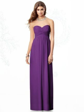Shop After Six Bridesmaid Dress - 6694 in Lux Chiffon at Weddington Way. Find the perfect made-to-order bridesmaid dresses for your bridal party in your favorite color, style and fabric at Weddington Way.