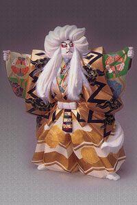 博多人形 鏡獅子 No.3 修一作  [0-0082]