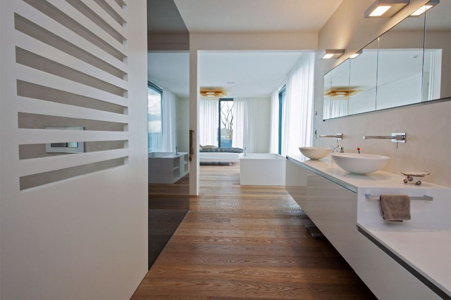 Holzboden Modern holzboden modern rustic bathrooms rustic bathrooms