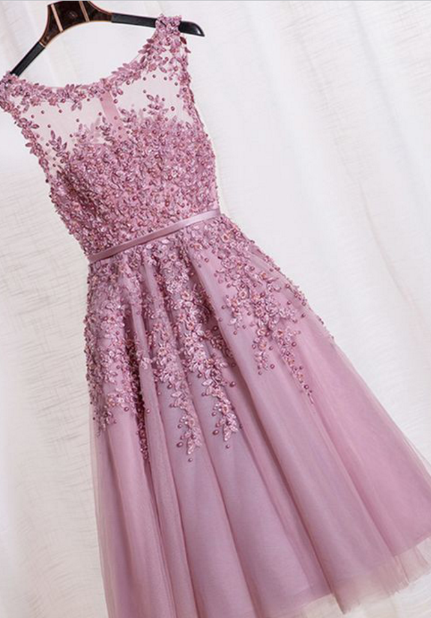 Beauty Graduation Dress,Short Prom … | Pinteres…