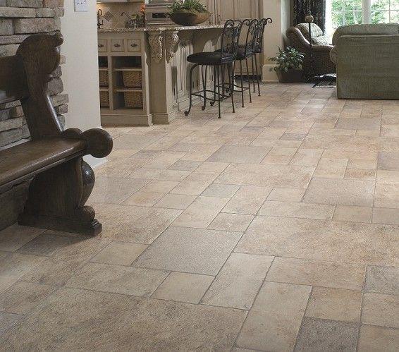 Best Laminate Flooring For Kitchen: Stone Tile Flooring, Tile Effect
