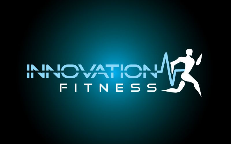 Innovation Fitness Logo Design