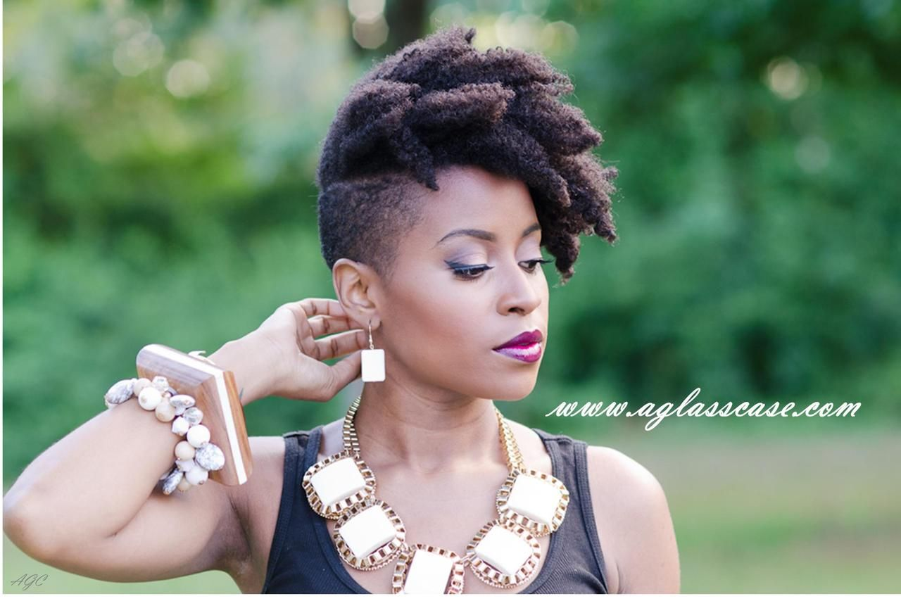 Tapered Natural Hair Styles: I Need This Hairstyle In My Life PRONTO! Natural Hair
