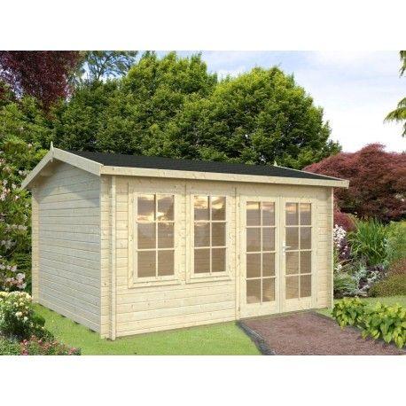 Modèle Iris, d\'une superficie de 11.1 m² | Nos abris de jardin en ...