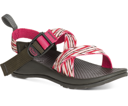 1abc1bc89 Chaco Kids  Z1 Ecotread Little Kid Big Kid (Incan Rose) The Chaco Kid s Z1  Ecotread sport sandal is a girly