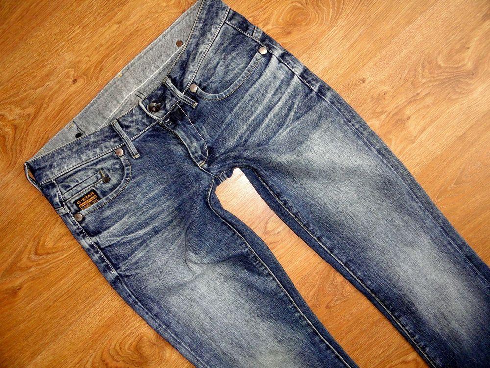 G STAR Midge Straight WMN Damen Jeans Gr. W30 L32