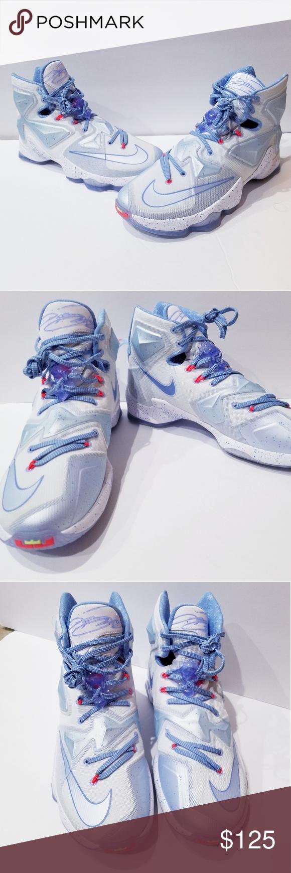 25efc2ffa99 Nike Lebron XIII 13 Christmas XMAS Summit Sneakers Nike Lebron XIII 13  Christmas XMAS Summit White