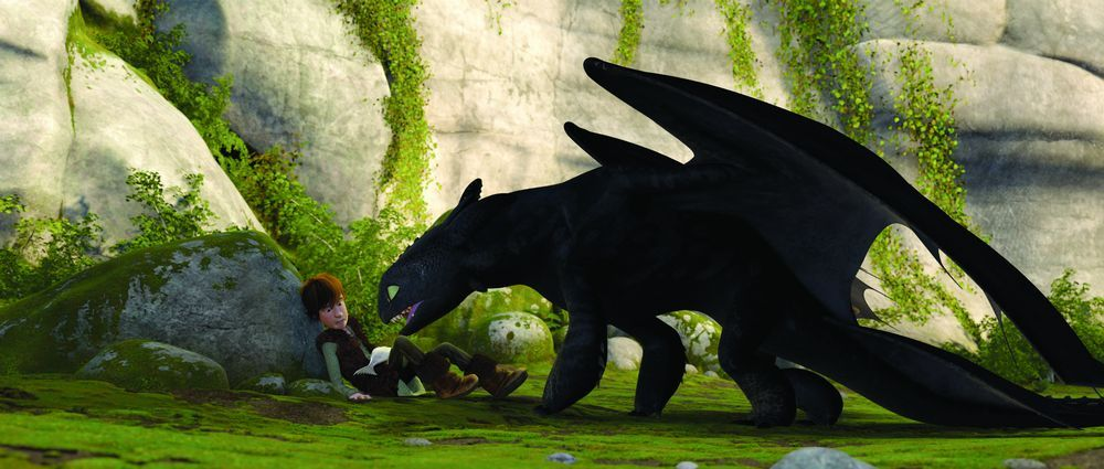 how to train your dragon novel