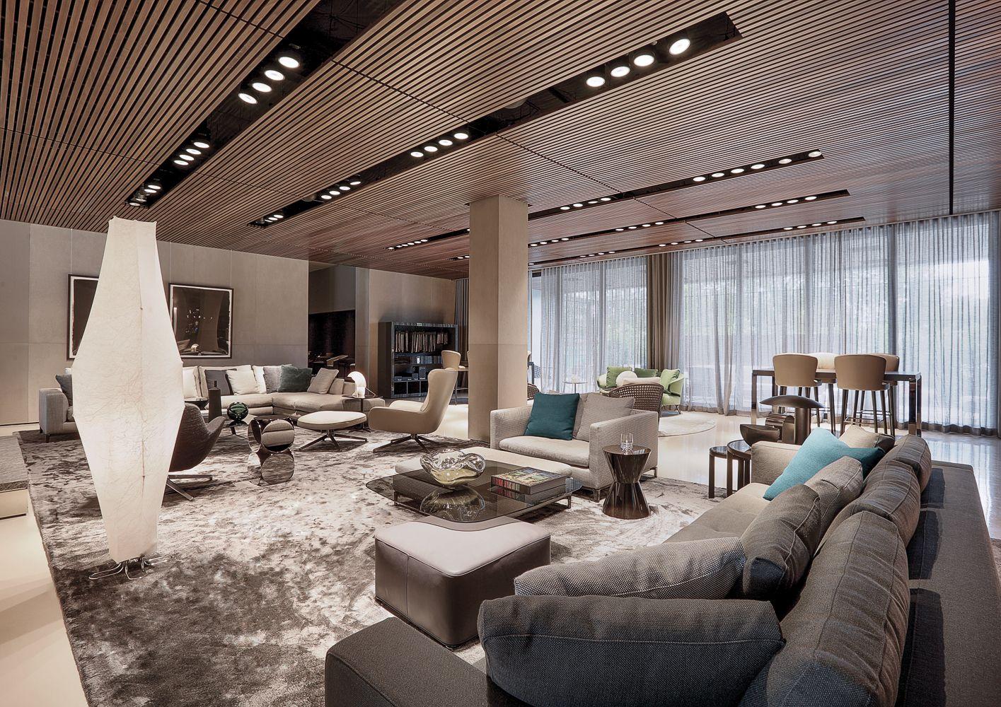 Miami flagship store minotti miami flagship store for Lacost case in legno