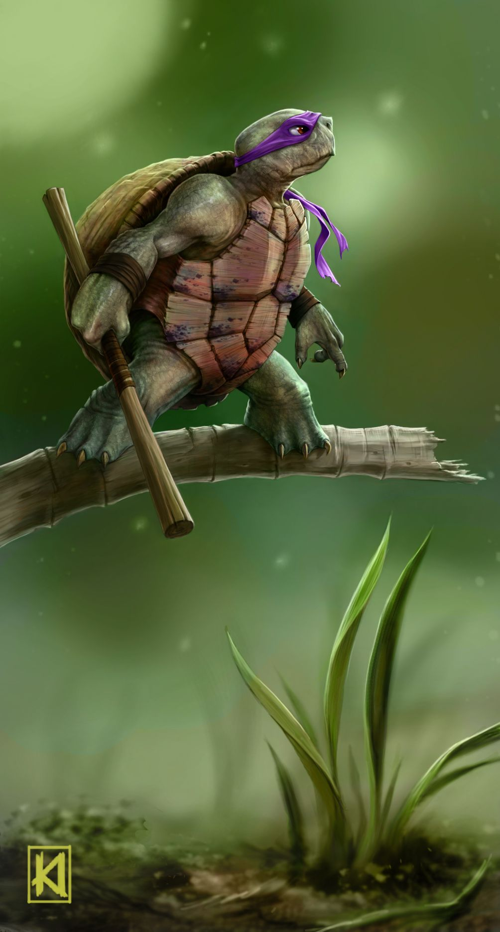 geeksngamers: TMNT: Turtle Power- by Kory... | Awesome Design Inspiration