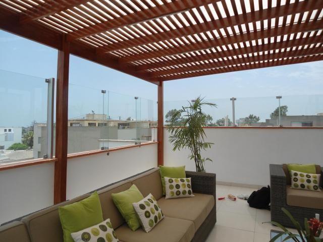 Imagenes De Techos De Madera Y Aluminio En Lima Techos De Madera Diseno De Terraza Imagenes De Techos