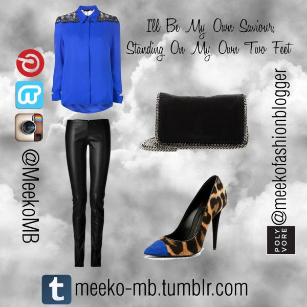 """I'll Be My Own Saviour, Standing On My Own Two Feet"" by meekofashionblogger on Polyvore"