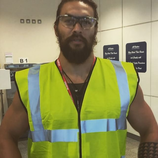 Jason Momoa Is Like A Kid In A Candy Store At The Guinness