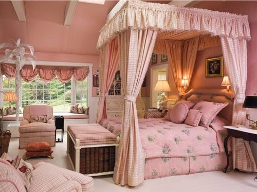 Eye For Design: Decorating Grown Up Pink Bedrooms | Bedrooms for ...