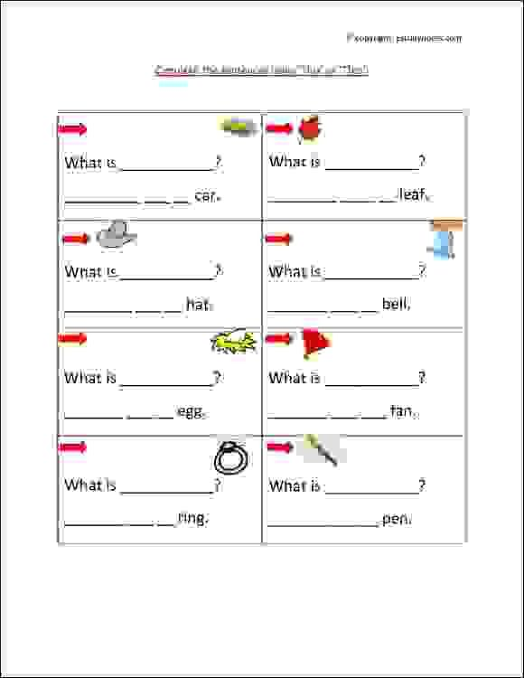 Grade 1 English Grammar Worksheet To Practice Use Of This And That. Usage  This And That Worksheet… Worksheets For Class 1, English Grammar  Worksheets, Blend Words