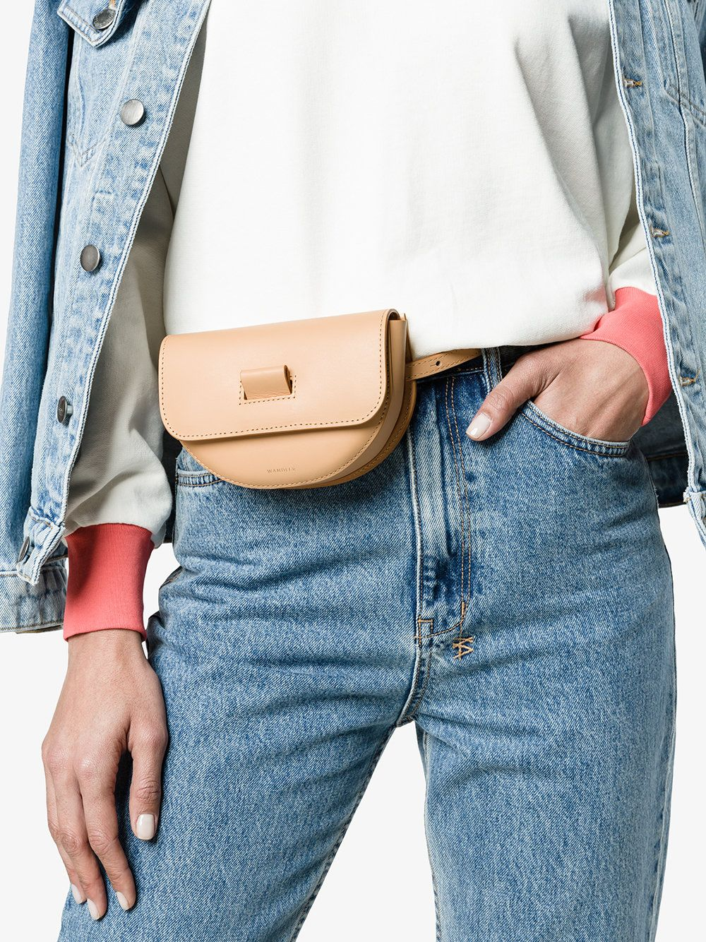 35ee18012914 Wandler | Nude 'Anna' Leather Belt Bag - | bags & purses in 2019 ...