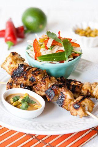 Pistachio Chicken Satay | WhyNut