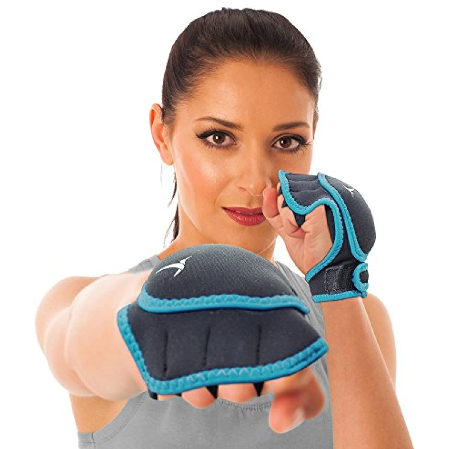 Empower Weighted Gloves for Women, 1 Pound Each Glove Weighted Fitness  Gloves, Kickboxing, Cardio, Workout -- Lea… in 2020 | Workout gloves,  Workout review, Weights workout